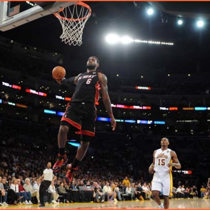 2011-12 Game Gallery: HEAT @ Lakers