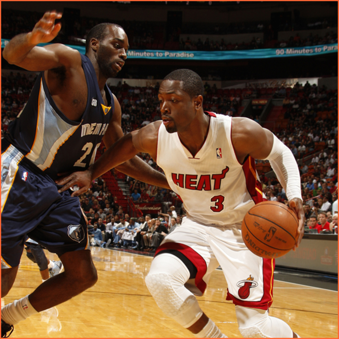 2011-12 Game Gallery: Grizzlies @ HEAT
