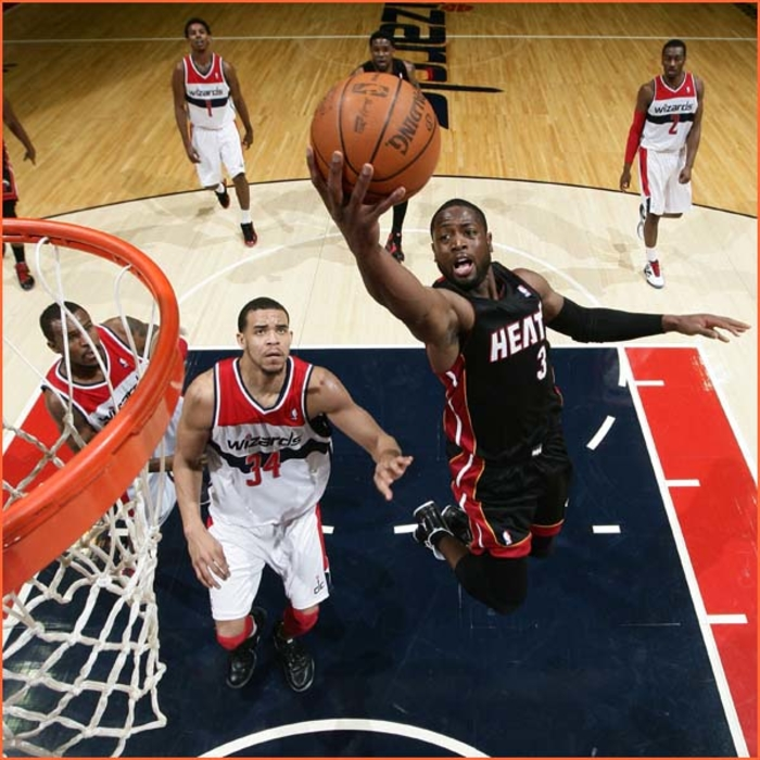 2011-12 Game Gallery: HEAT @ Wizards