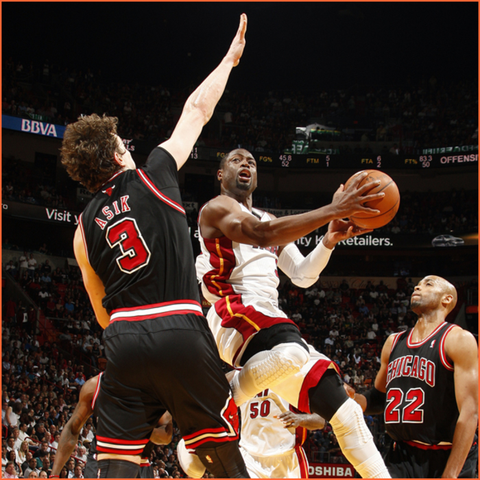 2011-12 Game Gallery: Bulls @ HEAT