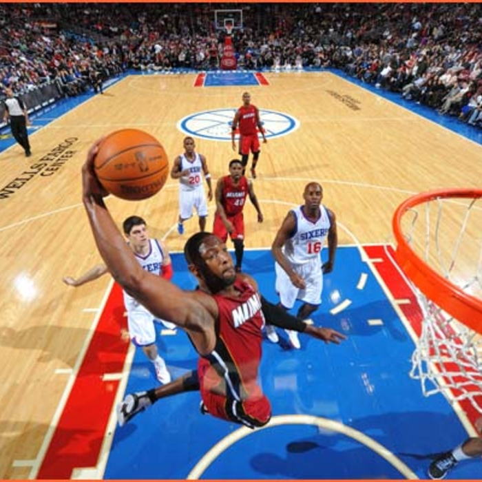 2011-12 Game Gallery: HEAT @ 76ers