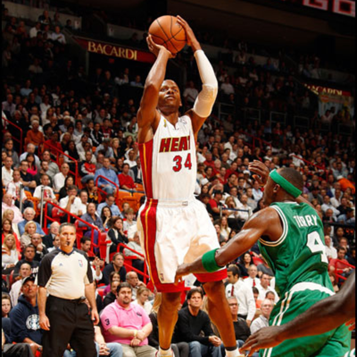 2012-13 HEAT Player Gallery: Ray Allen - October