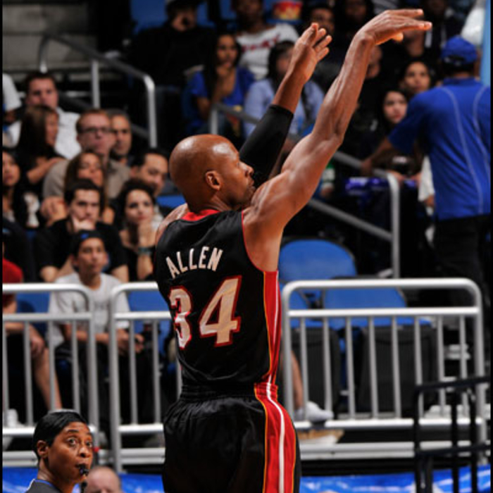 2012-13 HEAT Player Gallery: Ray Allen - December