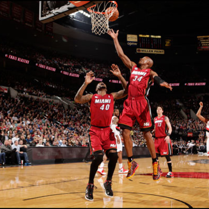 2012-13 Game Gallery: HEAT @ Trail Blazers