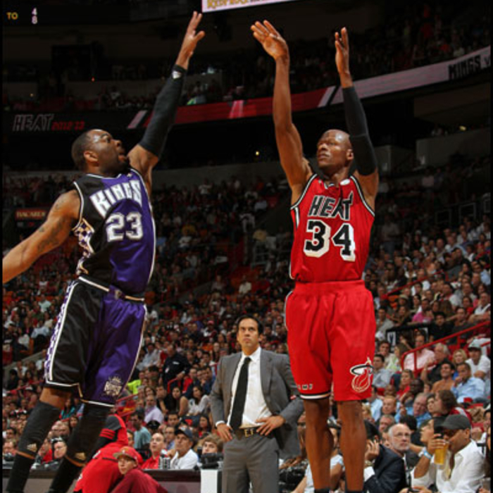2012-13 HEAT Player Gallery: Ray Allen - February