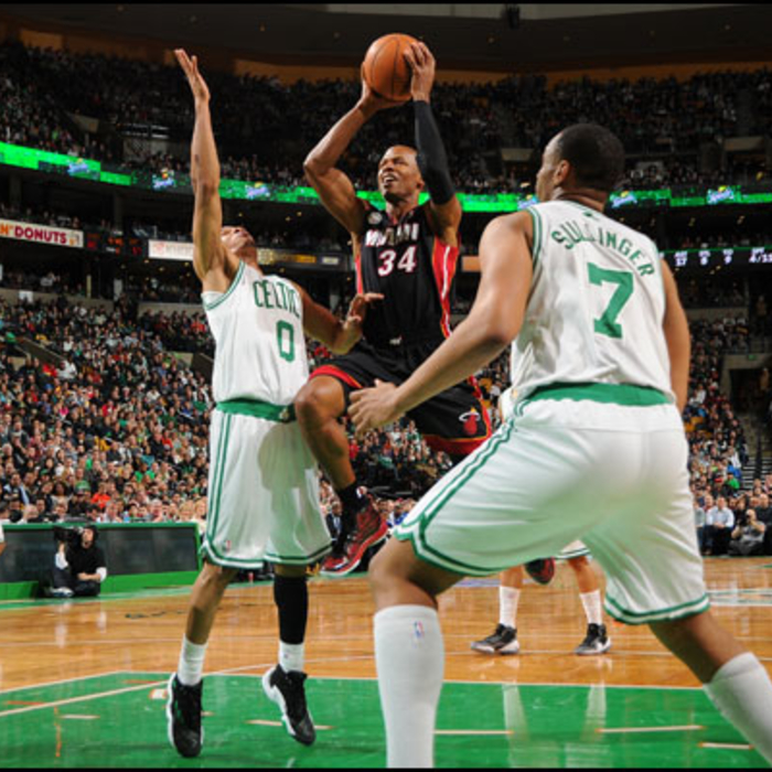 2012-13 Game Gallery: HEAT @ Celtics