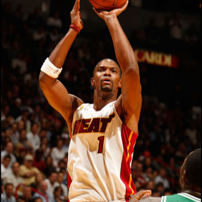 2012-13 HEAT Player Gallery: Chris Bosh - October