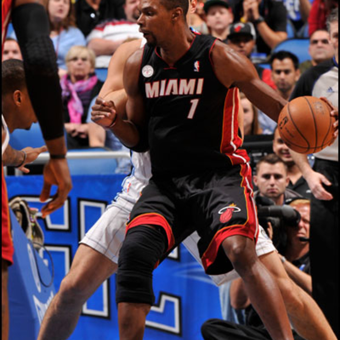 2012-13 HEAT Player Gallery: Chris Bosh - December