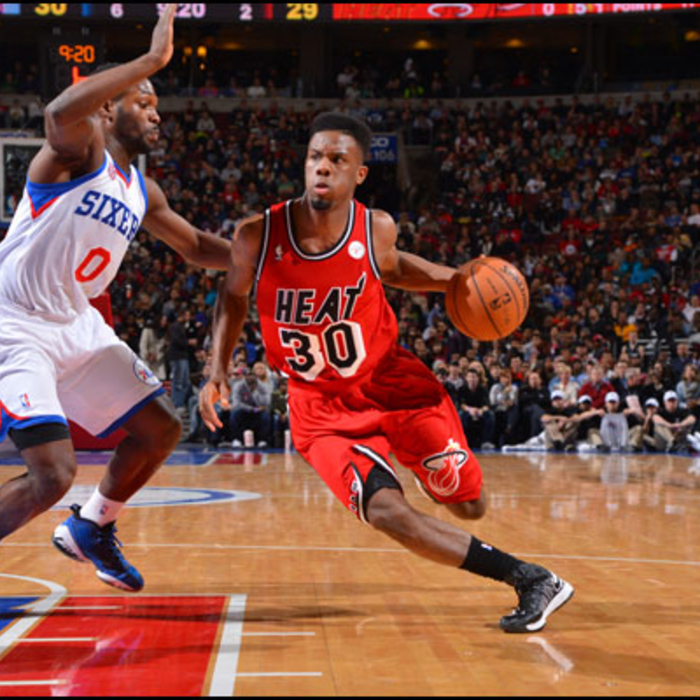 2012-13 Game Gallery: HEAT @ 76ers
