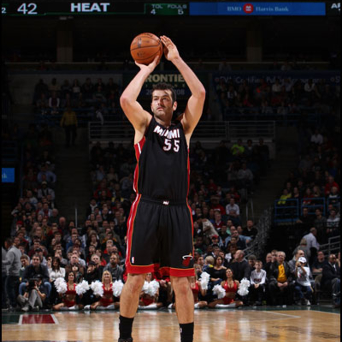 2012-13 HEAT Player Gallery: Josh Harrellson