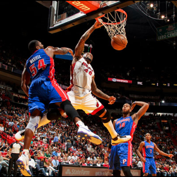 2012-13 Game Gallery: Pistons vs HEAT