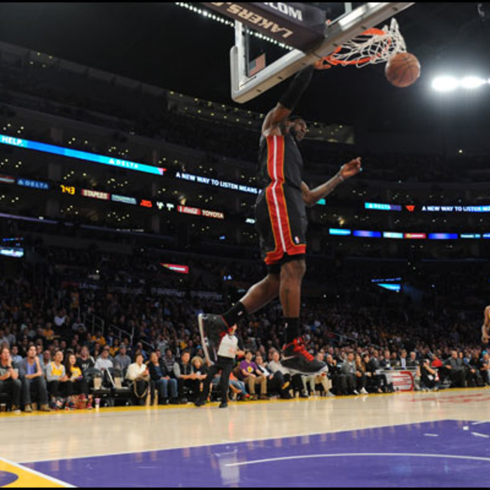 2012-13 Game Gallery: HEAT @ Lakers