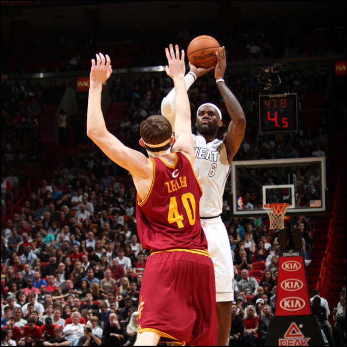 2012-13 Game Gallery: Cavaliers at HEAT