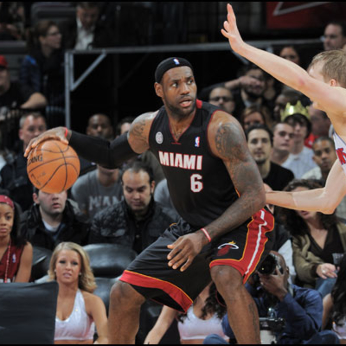 2012-13 Game Gallery: HEAT @ Pistons