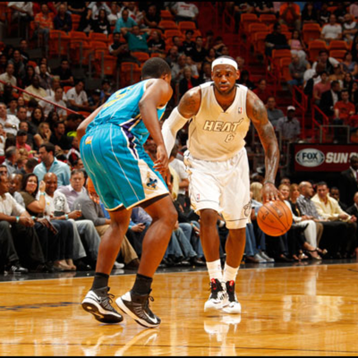 2012-13 Game Gallery: Hornets vs HEAT