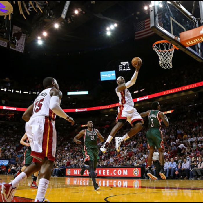 2012-13 Game Gallery: Bucks vs HEAT