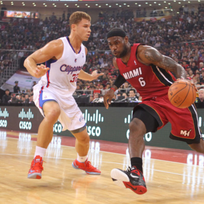 2012-13 Game Gallery: HEAT vs Clippers