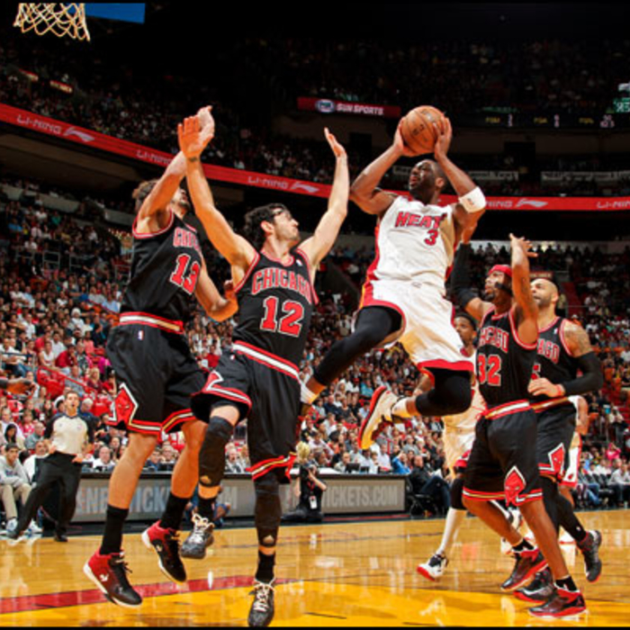 2012-13 Game Gallery: Bulls vs HEAT