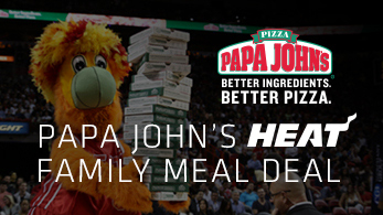 Papa John's HEAT Family Meal Deal