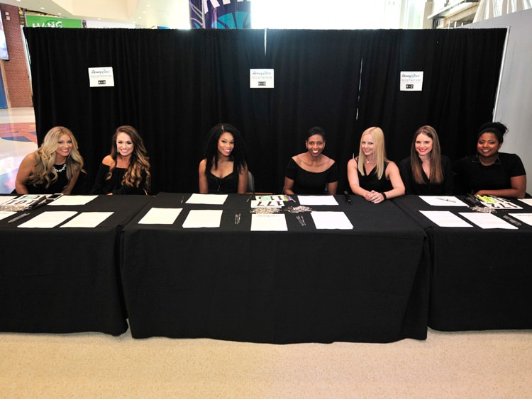 2017 Honey Bees Audition Gallery Charlotte Hornets
