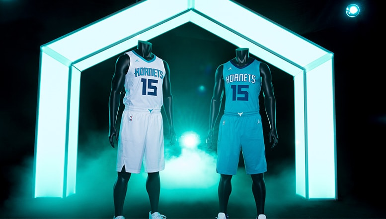 Hornets Unveil First Two Uniforms for 2017-18 Season  7112ba552