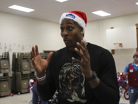 Gallery | Dwight Howard Bike Giveaway - 12/14/17