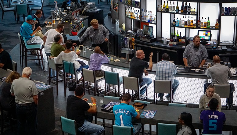 Hornets Unveil Renovated And Redesigned Flight Deck
