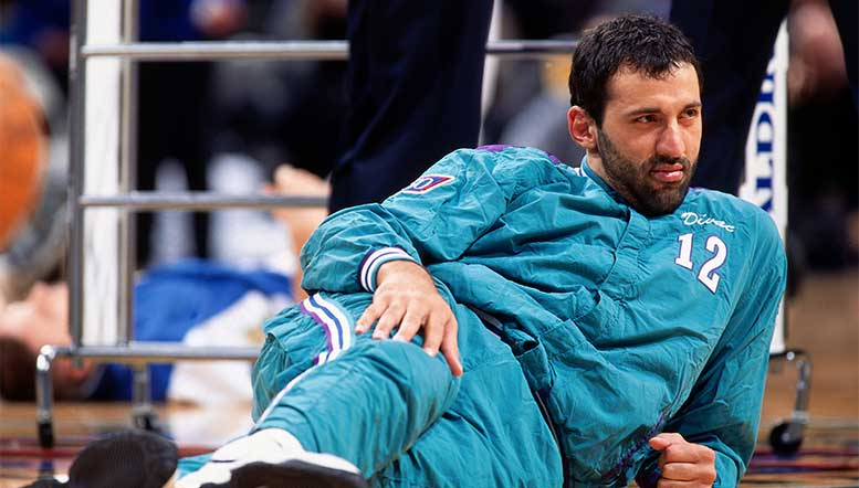 Flirting with Retirement, How A Trade to Charlotte Saved Vlade Divac's NBA Career
