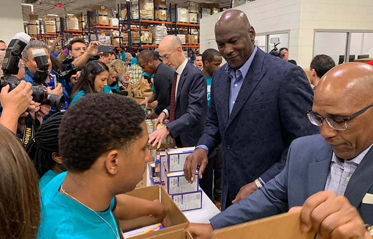 2019 All Star Weekend Second Harvest Food Bank 2 15 19