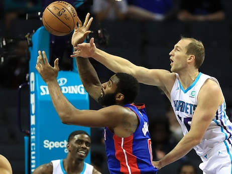 Hornets Look to End Skid Against Sharp-Shooting Pistons