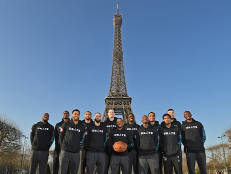 "Hornets ""Hosting"" Milwaukee Bucks at NBA Global Games in Paris"