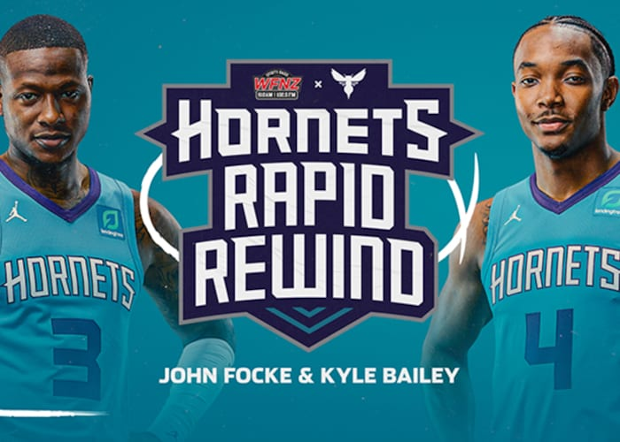 "Hornets and Flagship Radio Station WFNZ Produce ""Hornets Rapid Rewind"" Show 
