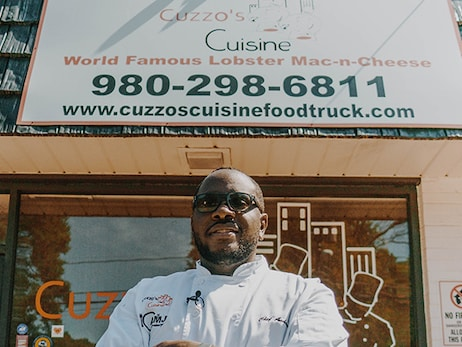 "Chef Andarrio Johnson is ""Bringing Everyone Together"" at Cuzzo's Cuisine"