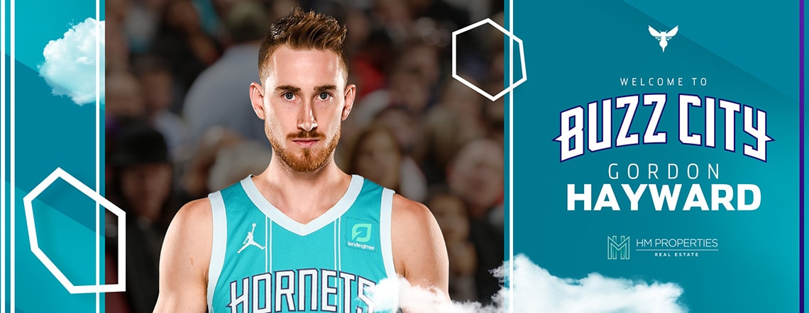 Hornets Acquire Forward Gordon Hayward in Sign-and-Trade Deal
