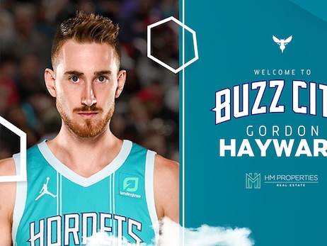 Hornets Acquire Forward Gordon Hayward and Two Future Second-Round Picks in Sign-and-Trade Deal