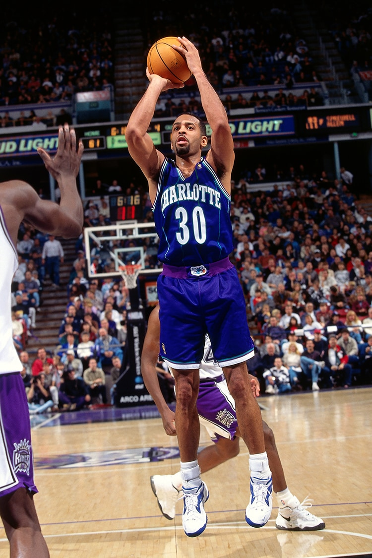All Time Greats Dell Curry Charlotte Hornets