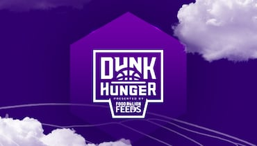 Hornets and Food Lion Feeds Partner For Annual Dunk Hunger Food Drive