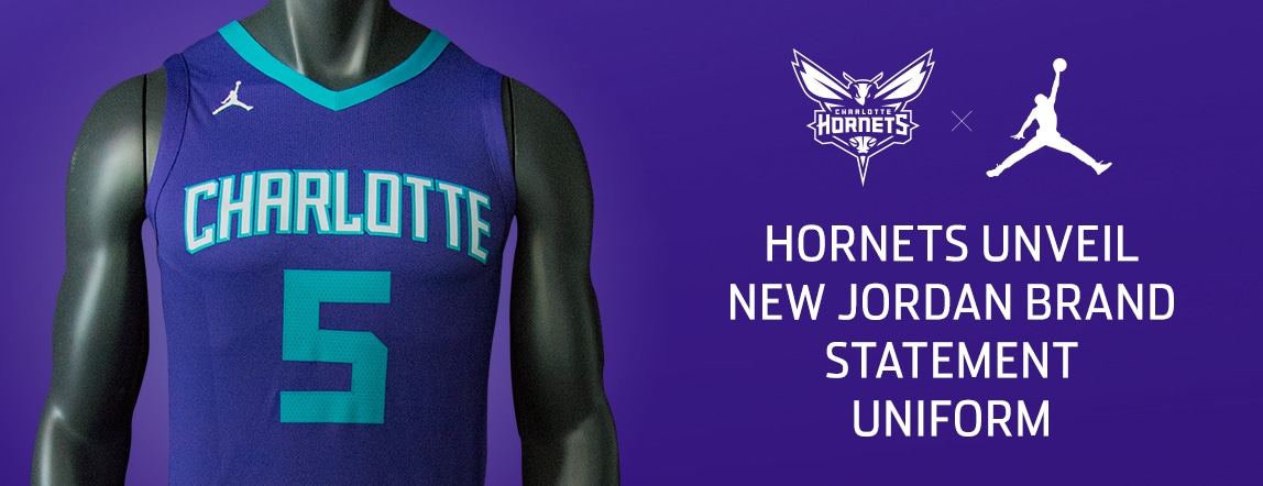 Hornets Unveil Statement Uniform For 2017-18 Season  3e3a6d7dc