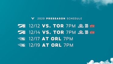 Preseason Schedule Announced