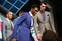 Noah Vonleh Behind-The-Scenes Draft Gallery - 6/26/14