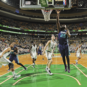 The Hornets fall to the Boston Celtics, 106 - 98