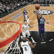 The Hornets top the Brooklyn Nets, 115 - 91