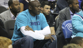 Michael Jordan at Hornets vs. Knicks 12/5/14