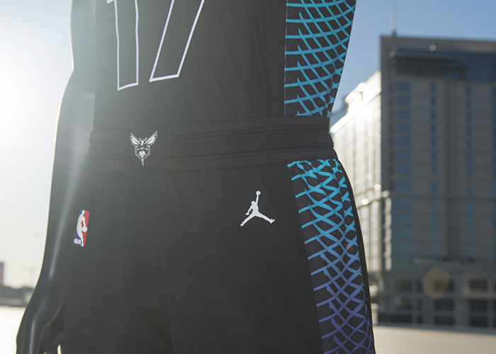 226548af613 The Charlotte Hornets unveiled their fifth and final uniform for the 2017-18  season,