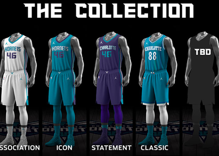 Hornets Unveil Uniform Schedule For 2017 18 Season Charlotte Hornets