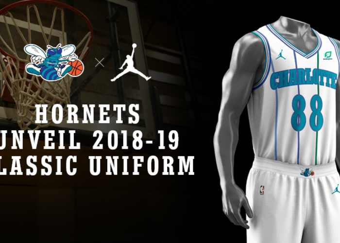 Hornets Unveil New White Classic Uniform For 2018 19 Season Charlotte Hornets