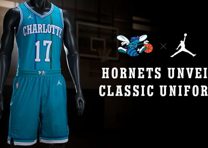 Hornets Unveil Classic Uniform for 2017-18 Season  7f3ae7cff