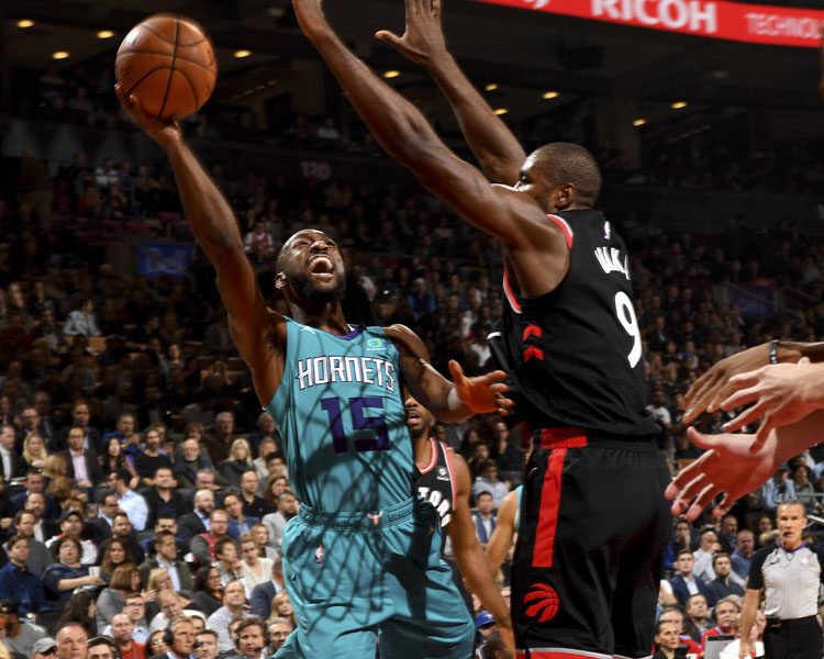 Hometown Raptors Too Much for Visiting Hornets