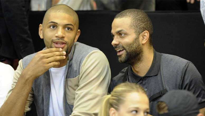 Parker, Batum 'Les Partenaires' in Basketball, Business