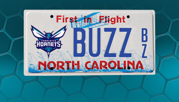 Apply for your Hornets Plate Today!